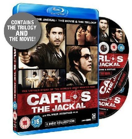Carlos the Jackal: Movie and the Trilogy The Blu-ray version of the film plus the five-and-a-half-hour television mini-series chronicling 20 years in the life of the Venezuelan revolutionary Ilich Ramirez Sanchez aka Carlos the Jackal. Edgar http://www.MightGet.com/january-2017-12/carlos-the-jackal-movie-and-the-trilogy.asp
