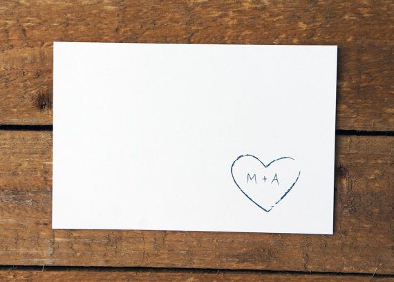 rustic wedding envelope :))