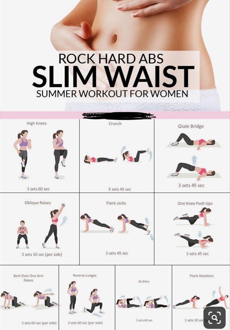 Slim Waist Summer Workout For Women #ketodiet #dietplan #ketorecipes #loseweight