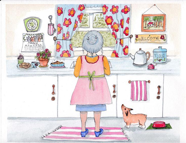 https://flic.kr/p/G3SN4f   grandmother   A little illustration I did today for the 52 week illustration challenge.