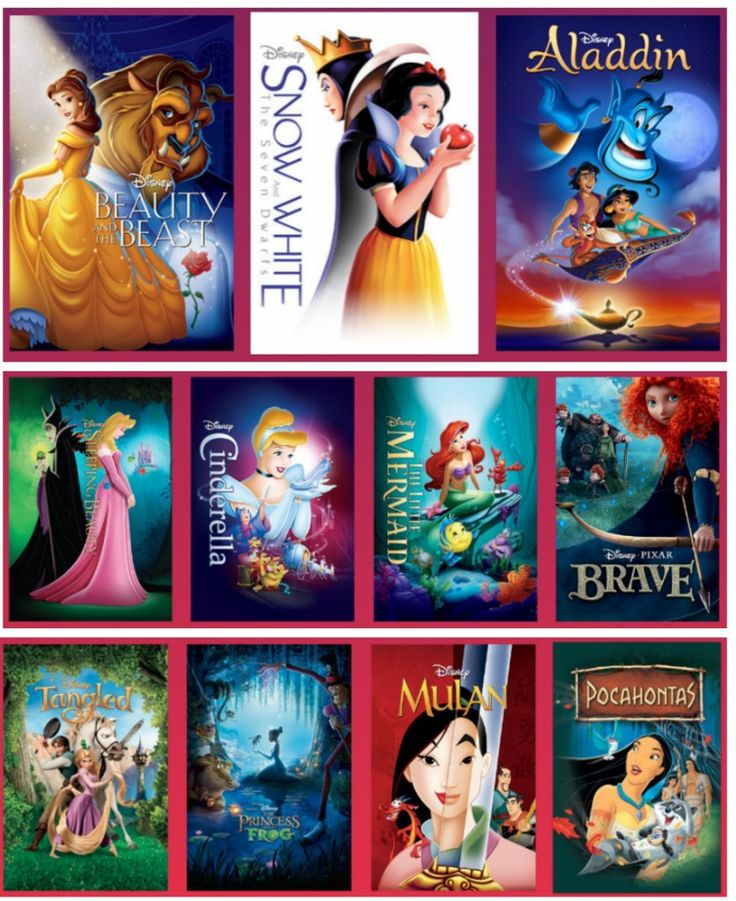 Disney Princess Fans :  All the Princess Movies are Coming out of the Vault…