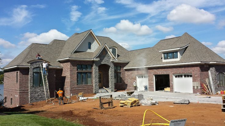 See the progress on this stone and brick version of The    See the progress on this stone and brick version of The Hollowcrest  plan   http     dongardner com plan details aspx pid