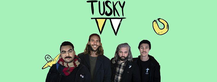 Панк-рок с нового ракурса! Интервью с группой Tusky | LiveYS МузЖурнал