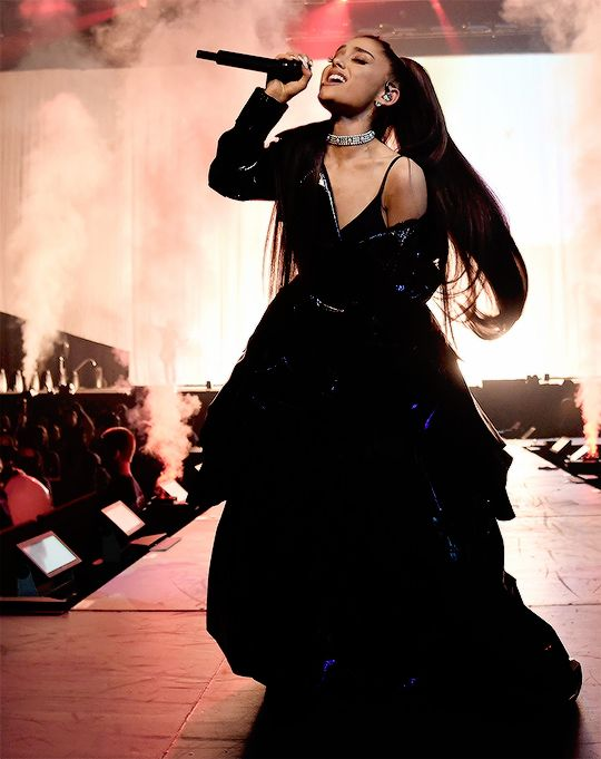 Ariana Grande performs at her Dangerous Woman Tour on February 3rd, 2017 in Phoenix, AZ