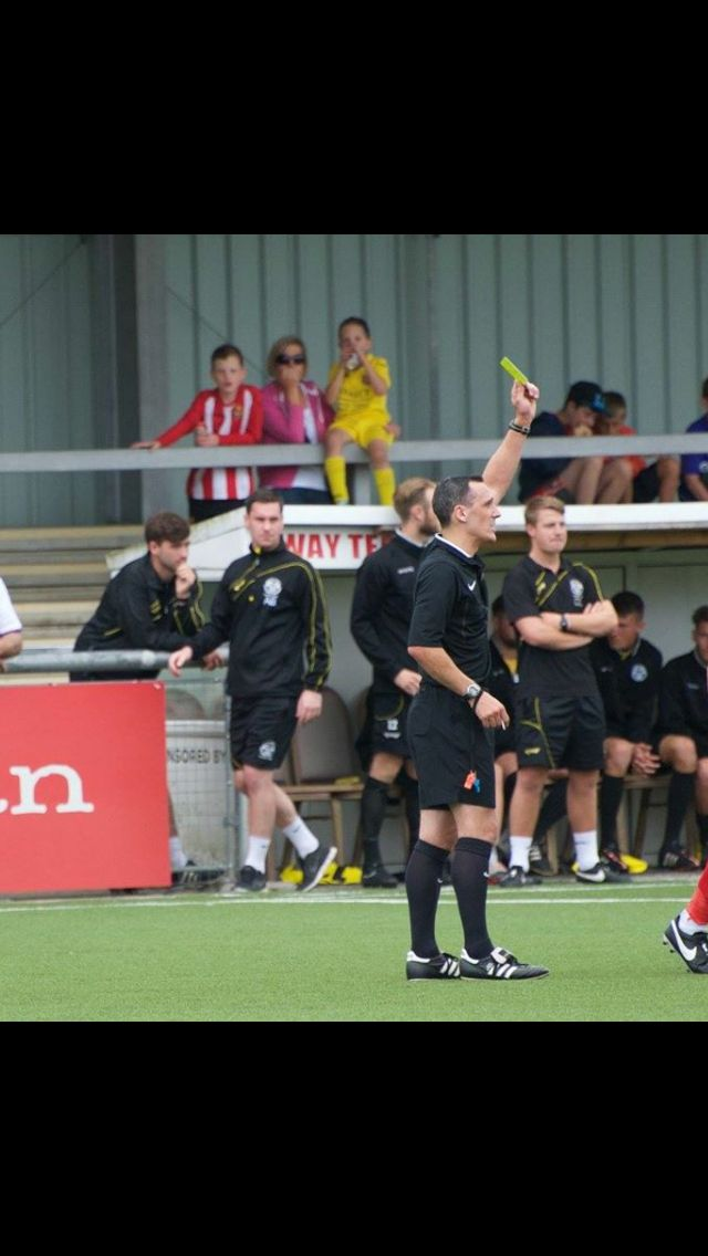 Harlow Town FC away in the FA Cup.