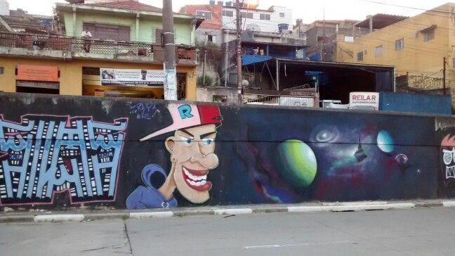 Arte na rua/ Terminal Bonsucesso - Guarulhos / BR 04/2017