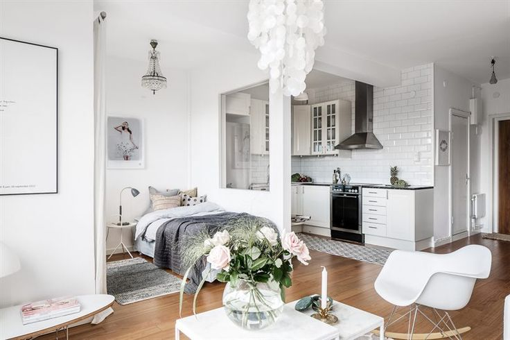 Scandinavian studio apartment Follow Gravity Home: Blog - Instagram - Pinterest - Bloglovin - Facebook