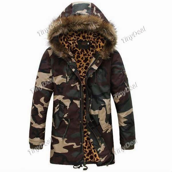 Интернет - магазины : Мужская верхняя одежда, теплая зимняя куртка с кап...