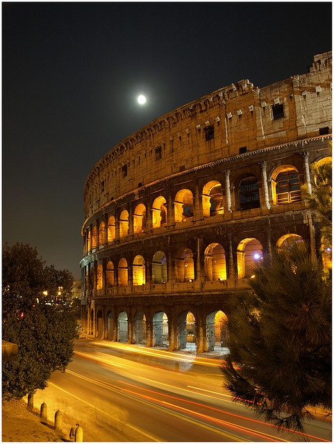 Rome, Italy       so many legends are made here.