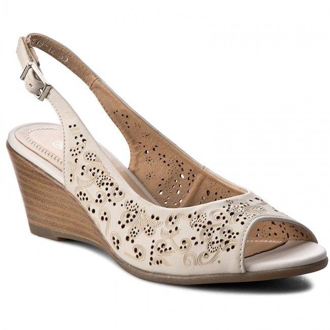 Sandále CLARA BARSON - WS1519-12 Szary Jasny