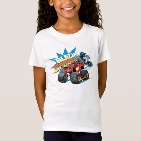 Blaze and the Monster Machines | Blazing Speed T-Shirt - click to get yours right now!