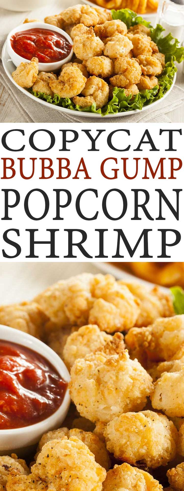 Love Bubba Gump's Popcorn Shrimp? You have to try this Copycat Bubba Gump Popcorn Shrimp recipe. It is a perfect appetizer recipes.
