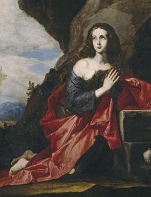 Jose de Ribera, Mary Magdalene, 1641. Museo Nacional del Prado, Madrid.