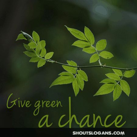 27 Great Go Green Slogans and Posters