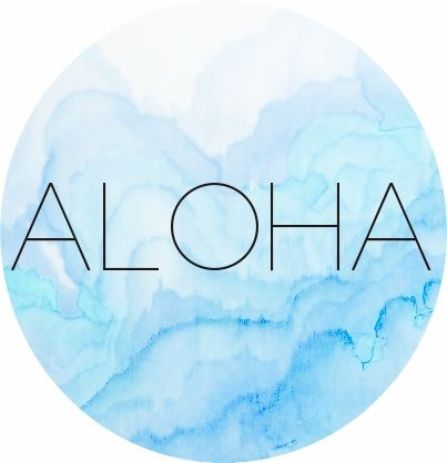 Aloha graphics. Some inspiration for Wednesday | The Copycat Followed You