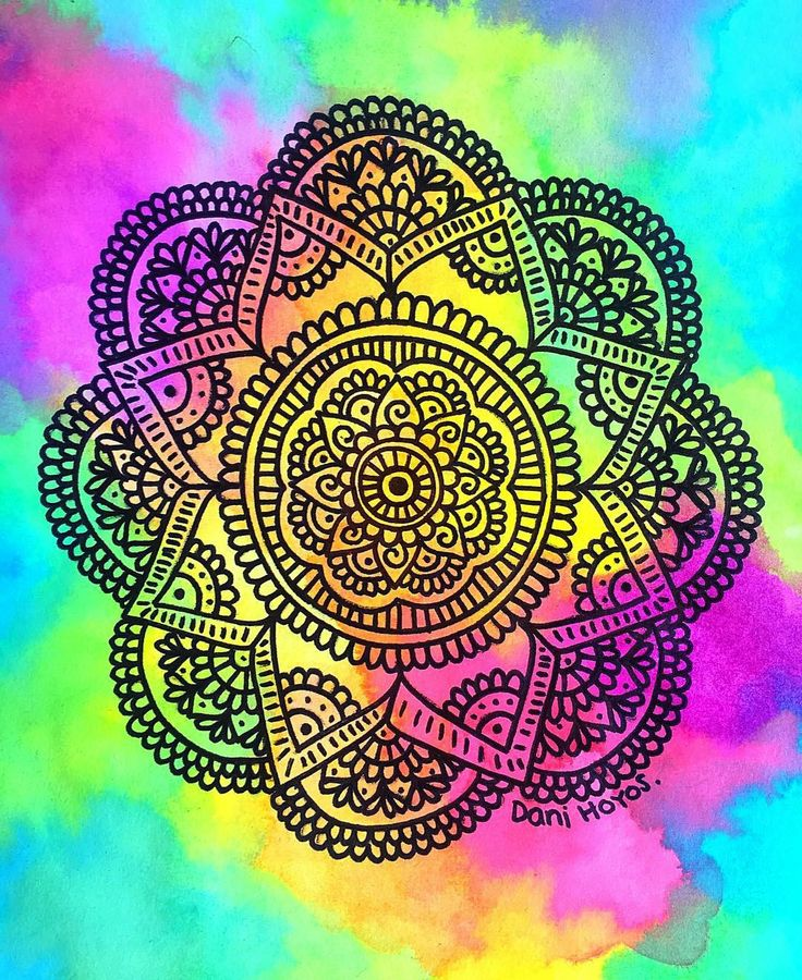 Mandala colorida