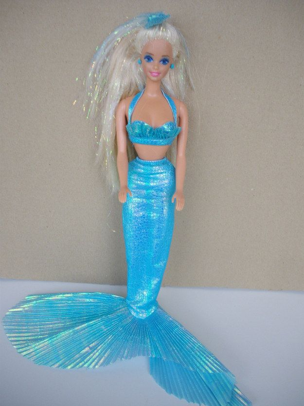 Taking your Mermaid Barbie to the pool with you | 29 Things That Will Remind You Of Your Childhood Summer