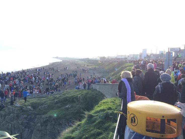 Christmas day swim on Greystones South Beach.. one of the best community events of the year!!