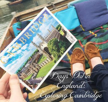 Days Out in England: Exploring Cambridge