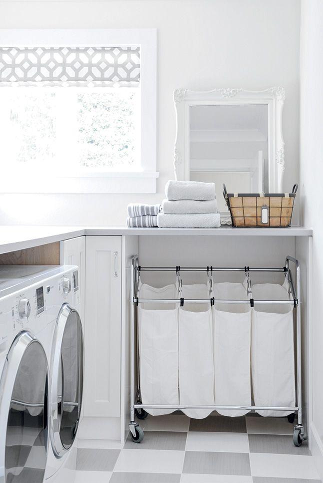 5 Inspirations Pour La Salle De Lavage Les Idees De Ma Maison Vintage Laundry Room Small Laundry Laundry Room Storage