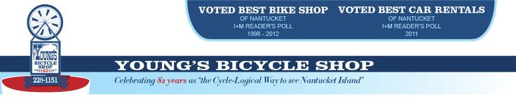 Reserve in advance on website no delivery available.  Ride them from Ferry to house?  Young's Bicycle Shop | Nantucket Bike Store | Nantucket bike Rentals | Nantucket Car Rentals