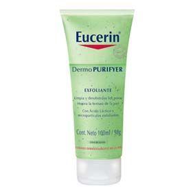 Eucerin Euc Exfoliante Dermopurifyer 100Ml Exfoliante que abre los poros obstruidos y suaviza la piel mientras reduce los puntos negros y las imperfecciones. Su fórmula con ácido láctico trabaja directamente en las zonas grasas de la piel.