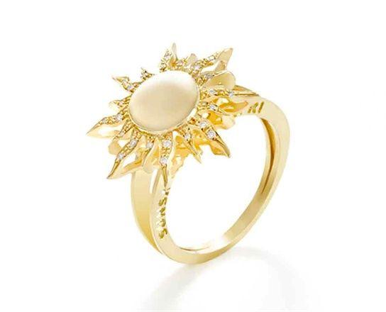 Sun Ring Accessorie Vogue It Tangled Rapunzel Wedding