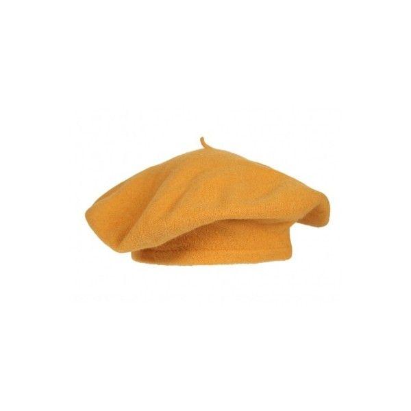 e24cbe9776c Mustard Yellow Beret - Vintage clothing from Rokit - hat