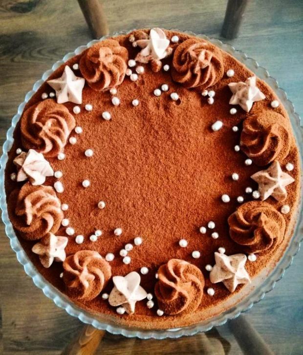 Nádherná vianočná torta. Autorka: Miriam Tarič.