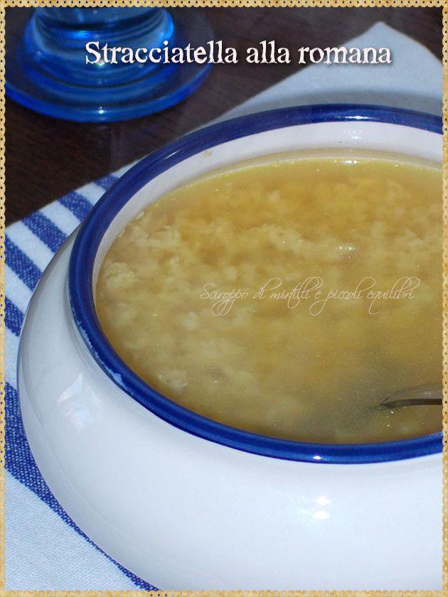 """Stracciatella alla romana (Roman """"Egg Drop"""" Soup)"""