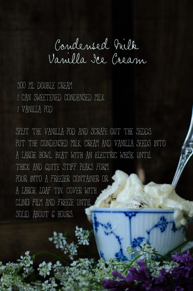Louise's Cooker: Easy Condensed Milk Vanilla Ice Cream