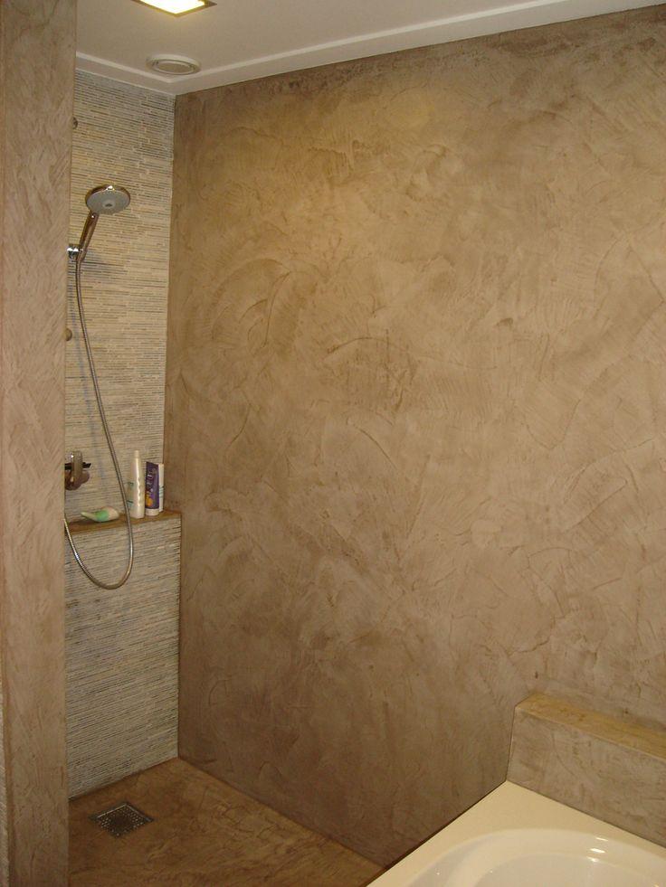 betoncire geschikt voor in de douche-ruimte