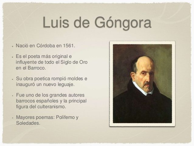 luis de gongora poesia  http://www.poemas-del-alma.com/luis-de-gongora.htm