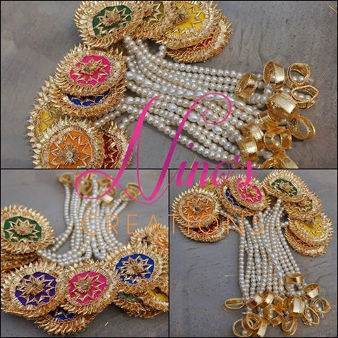 Nino's Creations Gota Jewellery