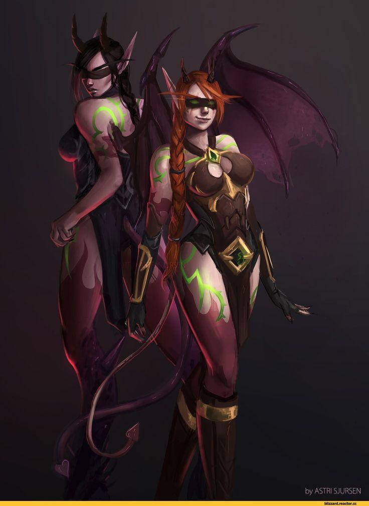 Demon-Hunter-World-of-Warcraft-Warcraft-Blizzard-3328108.jpeg (1024×1393)