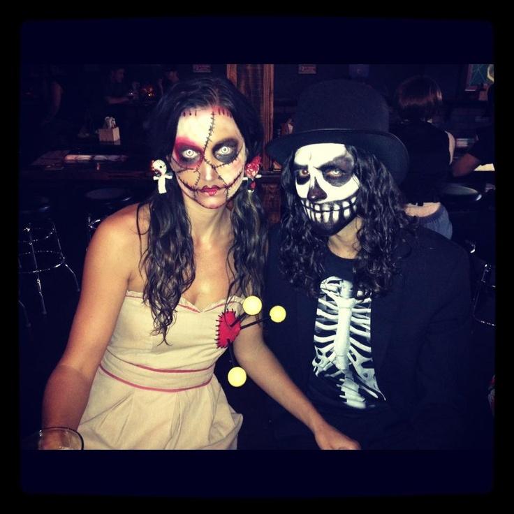 voodoo doll makeup | halloween stuff | Pinterest | Voodoo ...