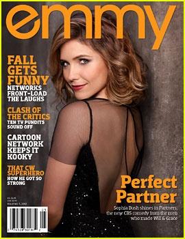 Sophia Bush on Emmy Magazine, October 2012 #SophiaBush #Emmy
