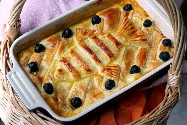food&crafts: Kiki Consegne a domicilio - Sformato di aringhe e zucca