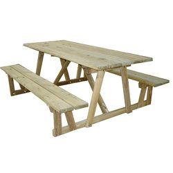 Plus de 25 idées uniques dans la catégorie Table pique nique bois ...