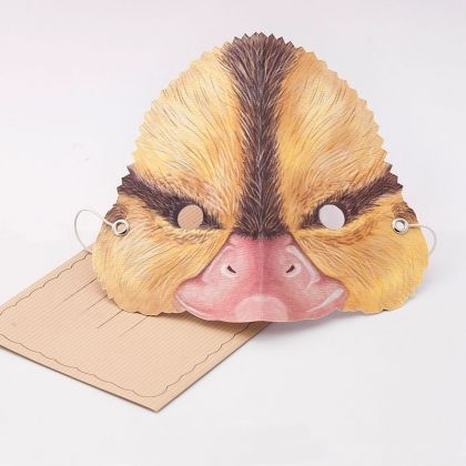 http://tmod.com.au/product/duck-mask Greeting card that doubles as a wearable duck mask