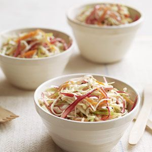 Rhubarb Slaw via Gourmet Picnic Recipes - Picnic Food - Delish.com
