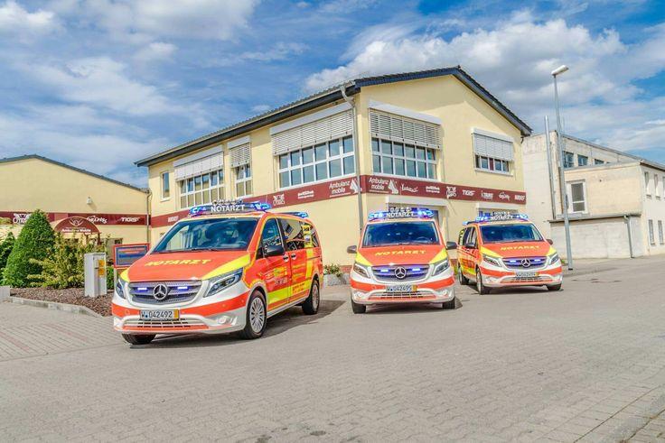 3 neue Notarzteinsatzfahrzeuge #NEF auf Mercedes-Benz Vito 119 CDI für die Feuerwehr Wuppertal