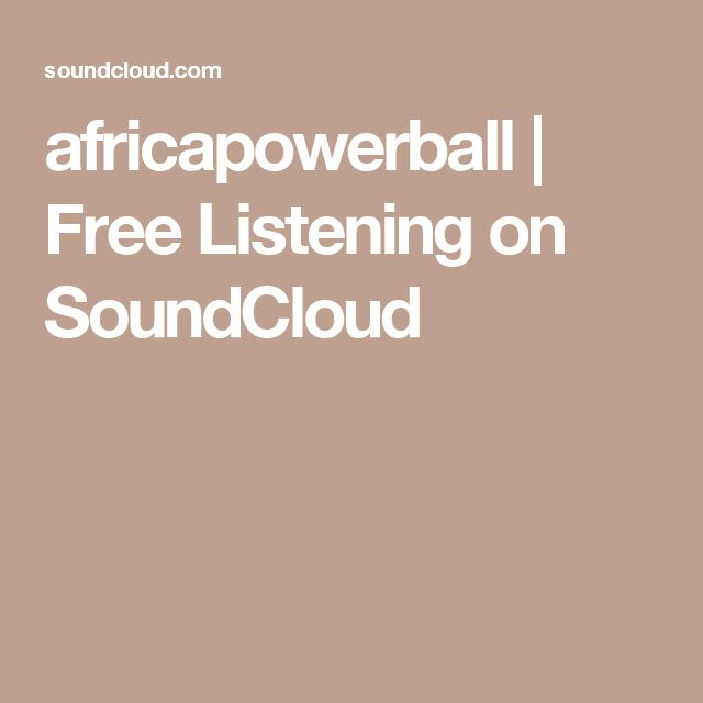 africapowerball | Free Listening on SoundCloud