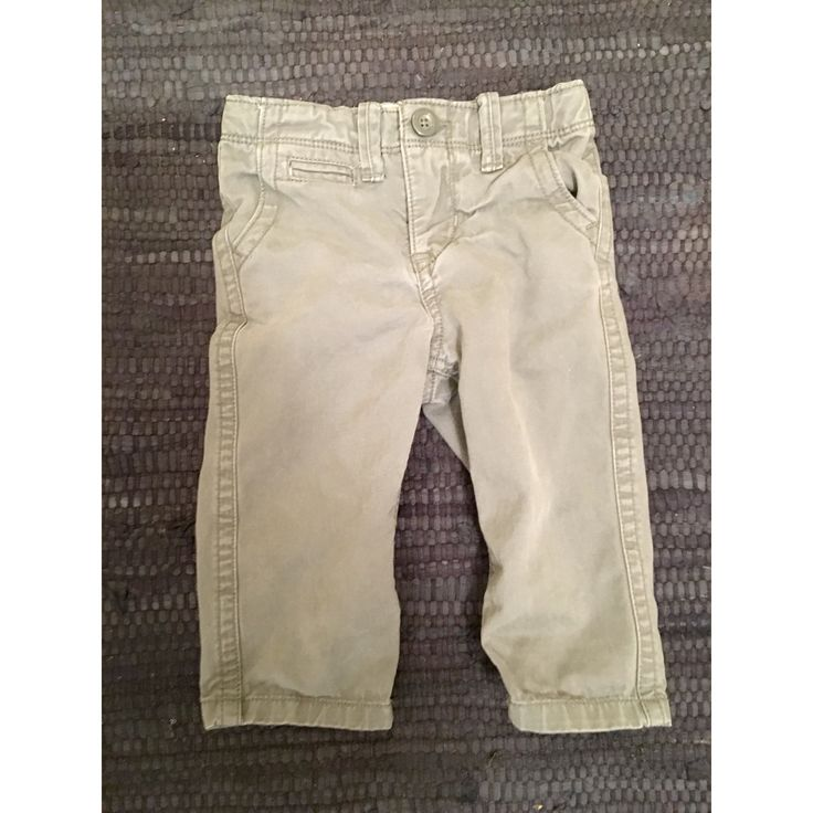 Baby Gap Gray Chino Pants 12-18M