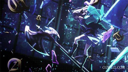 收集的酷炫动漫特效gif 第七弹 - 手绘特效&动漫gif - CGwell CG薇儿论坛,最专业的游戏特效师,动画师社区 - Powered by…