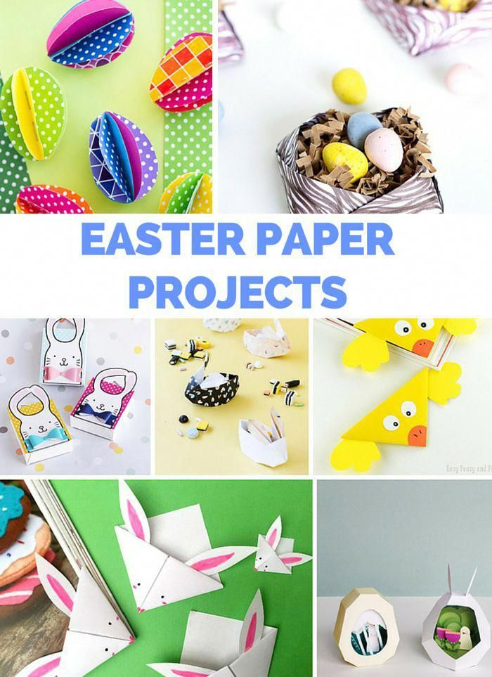 12 Delightful Easter Paper And Origami Projects Fun And Simple