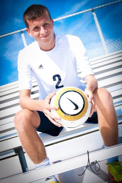 Guys soccer senior pic