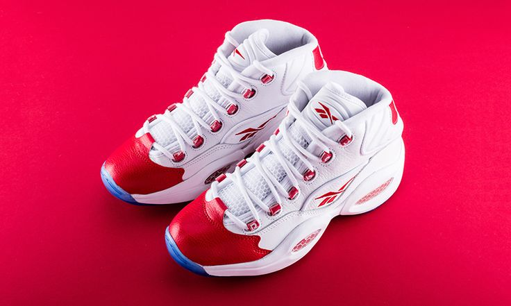 """Reebok Is Re-Releasing Allen Iverson's Iconic Question Mid OG """"Red Toe"""""""