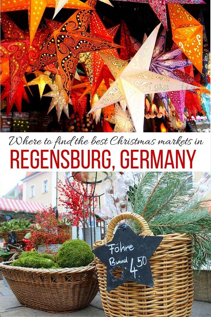 Regensburg, Germany has some beautiful Christmas markets!