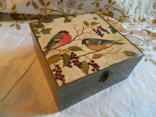 decoupaged box